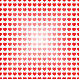 Abstract seamless hearts romantic background Royalty Free Stock Photo