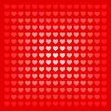 Abstract seamless hearts romantic background Royalty Free Stock Photos