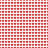 Abstract seamless hearts romantic background Stock Photo