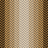 Abstract seamless herringbone pattern in black, gray, orange col Royalty Free Stock Image
