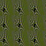 Abstract seamless hole pattern olive green gray black netting Royalty Free Stock Image
