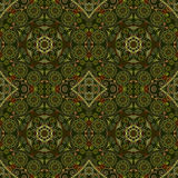 Abstract Seamless Kaleidoscope Pattern Royalty Free Stock Photos