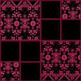 Abstract seamless lace floral pattern texture background Royalty Free Stock Photography
