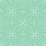 Abstract  seamless lace pattern. Duotone graphic ornament. Geometric arabesque floral ornament Royalty Free Stock Image