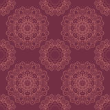 Abstract seamless lace pattern Royalty Free Stock Photography