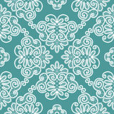 Abstract seamless lace pattern Royalty Free Stock Photo