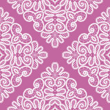 Abstract seamless lace pattern Stock Photos