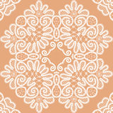 Abstract seamless lace pattern Royalty Free Stock Photos
