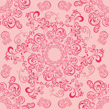 Abstract seamless mandala pattern Royalty Free Stock Photo