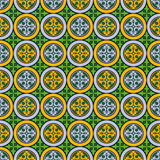Abstract seamless  medieval cross pattern. Abstract seamless  medieval cross style pattern Stock Photography
