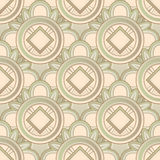 Abstract Seamless Medieval Pattern Stock Photography