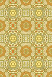 Abstract seamless medieval vector pattern Royalty Free Stock Photo