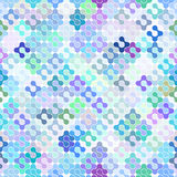 Abstract Seamless Meta Ball Pattern. Vector Royalty Free Stock Images
