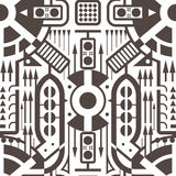 Abstract Seamless Modern Art Pattern for Textile Design Royalty Free Stock Photography