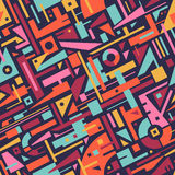 Abstract Seamless Modern Art Pattern for Textile Design Royalty Free Stock Photos