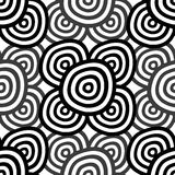 Abstract Seamless Monochrome Royalty Free Stock Images
