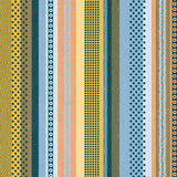 abstract seamless multicolor stripes Royalty Free Stock Photos