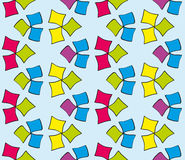 Abstract seamless multicolored painted by pattern Royalty Free Stock Photos
