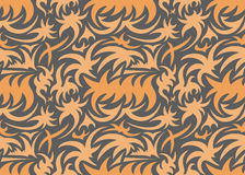 Abstract seamless organic pattern. vector illustration stock images