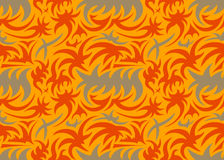 Abstract seamless organic pattern. vector illustration Stock Photography