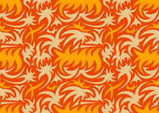 Abstract seamless organic pattern. vector illustration royalty free stock photo
