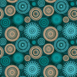 Abstract seamless ornament. In retro style Royalty Free Stock Photography