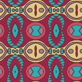 Abstract seamless ornament pattern. the kaleidoscope effect. Ethnic damask motif Stock Photo