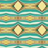 Abstract seamless ornament pattern. the kaleidoscope effect. Ethnic damask motif. Vintage style pattern. Vector illustration Royalty Free Stock Photography