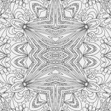 Abstract seamless ornament pattern. the kaleidoscope effect. Ethnic damask motif Stock Photos