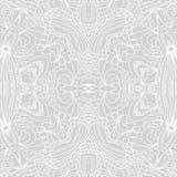 Abstract seamless ornament pattern. the kaleidoscope effect. Ethnic damask motif Stock Image