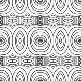 Abstract seamless ornament pattern. the kaleidoscope effect. Ethnic damask motif. Vintage style pattern. Vector illustration Stock Images