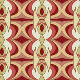 Abstract seamless ornament pattern.kaleidoscope effect. Stock Photo