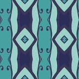 Abstract seamless ornament pattern.kaleidoscope effect. Stock Photography