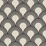 Abstract seamless ornament pattern. Vector illustration in retro style Royalty Free Stock Photos