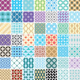 Seamless ornament patterns Royalty Free Stock Images