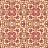 Abstract seamless ornamental vector pattern. Vector abstract colorful seamless patternbackground. festival geometric print Royalty Free Stock Photos
