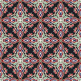 Abstract seamless ornamental vector tiled motif Royalty Free Stock Photos