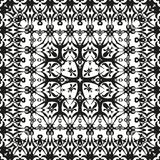 Abstract seamless outline pattern Stock Image