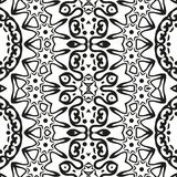 Abstract seamless outline pattern Royalty Free Stock Photos