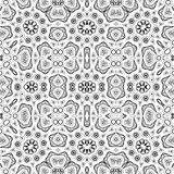 Abstract seamless outline pattern Royalty Free Stock Image
