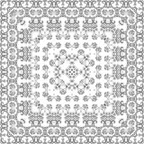 Abstract seamless outline pattern Stock Photography