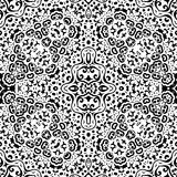 Abstract seamless outline pattern Royalty Free Stock Photography