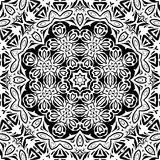 Abstract seamless outline pattern Stock Images