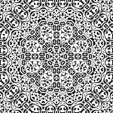 Abstract seamless outline pattern Stock Photos