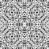 Abstract seamless outline pattern Stock Photo