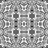 Abstract seamless outline pattern Royalty Free Stock Photo