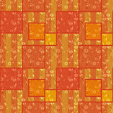 Abstract seamless patchwork checkered plaid textile design patte Royalty Free Stock Photo