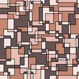 Abstract seamless pattern. Vector illustration Stock Photography