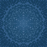 Abstract seamless pattern. Abstract seamless floral pattern. Vector illustration Royalty Free Stock Photo