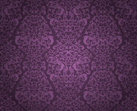 Abstract seamless pattern. Abstract seamless floral pattern. Vector illustration Royalty Free Stock Images